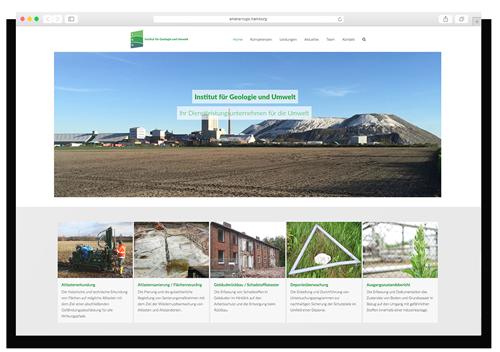 Institut für Geologie und Umwelt Website